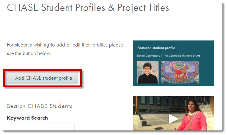 online profiles search