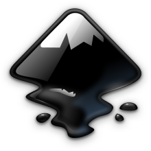 The Inkscape logo (created in Inkscape, of course)
