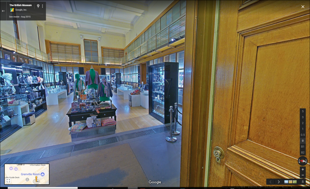 British Museum on Google Street View