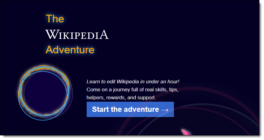 Wikipedia Adventure Game